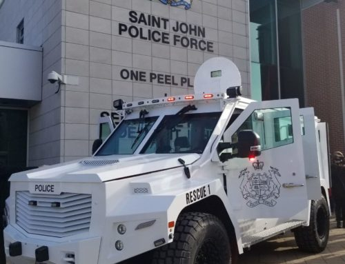 Rescue Vehicle Donated to Saint John Police Force